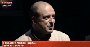 """Sky Tg24 – """"Rapporto Carelli""""   Nomadi Digitali"""