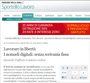 screen Corriere.it