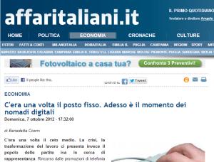 screen Affaritaliani.it