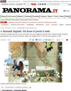 Nomadi digitali  Và dove ti porta il web   Panorama