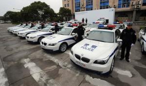 Vivere e Lavorare in Cina: Macchina della Polizia Cinese