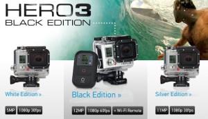 gopro-hero3-modelli-disponibili