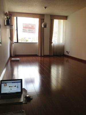 L'appartamento vuoto a Bogotà, 2012
