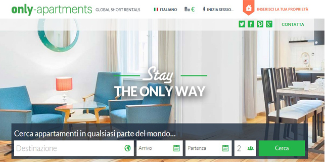 Appartamenti In Affitto A Breve Termine In Tutto Il Mondo:Only Apartments