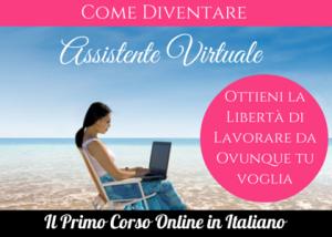 Il Primo Corso Online in Italiano