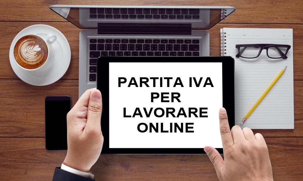 lavorare sul web online